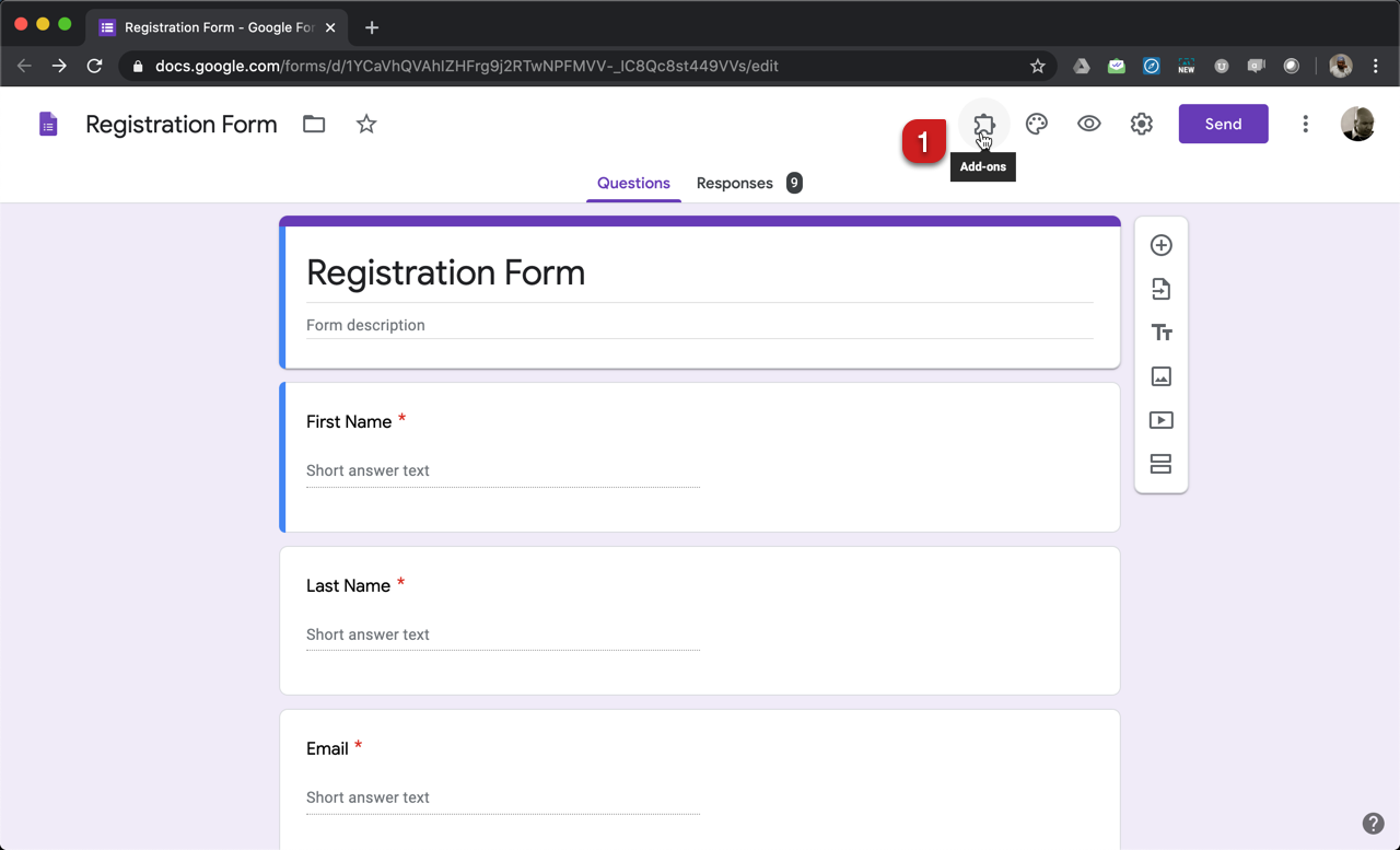 Formfacade How Can I Use The Form Response To Personalize The Confirmation Message In Google Forms